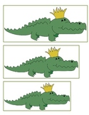 Mardi Gras Alligator Seriating Cards