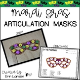 Mardi Gras Articulation Masks