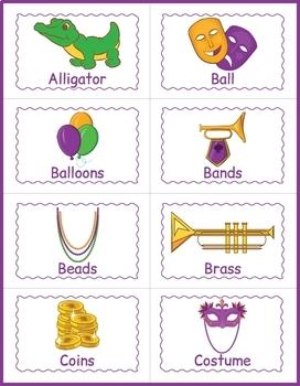 Mardi gras bingo free printable sheets