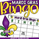 Mardi Gras Bingo