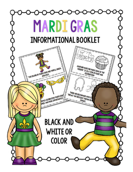 Mardi Gras Booklet
