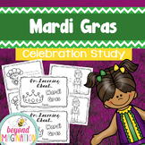 Mardi Gras Booklet | 44 Pages for Differentiated Learning + Bonus Pages