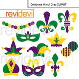 Mardi Gras Clip Art - Celebrate Mardi Gras