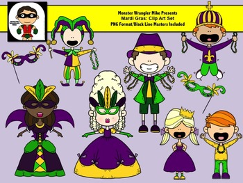 Mardi Gras Clip Art Collection