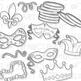 Mardi Gras Clip Art (Digital Use Ok!)