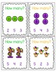 Mardi Gras Clip Cards -- Counting 1-10