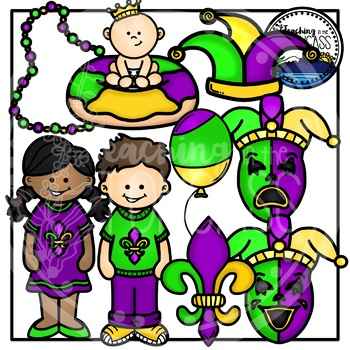 mardi gras clipart by teaching in the tongass teachers pay teachers rh teacherspayteachers com mardi gras clip art no background mardi gras clip art border