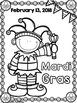 Mardi Gras Coloring Sheets with Mrs. Lendahand;)