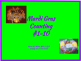 Mardi Gras Counting- Numerals 1-10