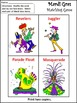 Mardi Gras Game Activities: Mardi Gras Crafts & Games Activity Packet