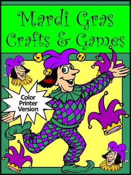 Mardi Gras Crafts & Games