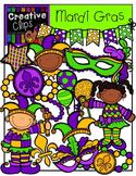 Mardi Gras {Creative Clips Digital Clipart}