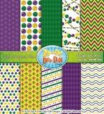 Mardi Gras Digital Scrapbook {Zip-A-Dee-Doo-Dah Designs}