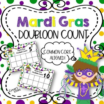 Mardi Gras Doubloon 10 Frame Count