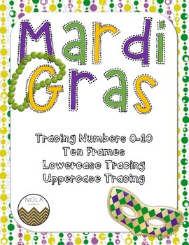 Mardi Gras / Fat Tuesday Math and Literacy Activities
