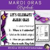 Mardi Gras Informational Text Flapbook