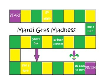 Mardi Gras Gameboard