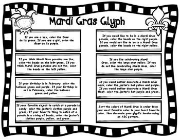 Mardi Gras Glyph