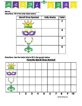 Mardi Gras Graphing