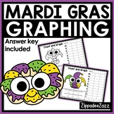 Mardi Gras Graphing Shapes