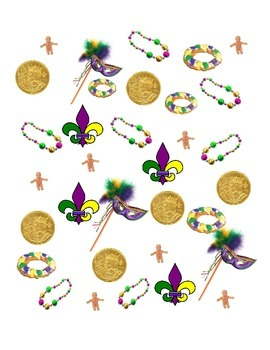 Mardi Gras Graphing and More!