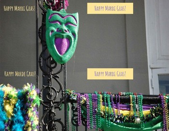 Mardi Gras Holiday-Grams