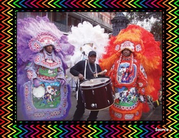 Mardi Gras Indians of New Orleans Gallery Walk