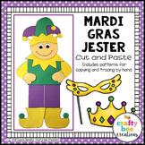 Mardi Gras Jester Carver Craft