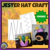 Mardi Gras Jester Hat Craft - FREEBIE