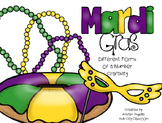 Mardi Gras King Cake- Number Forms