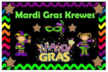 Mardi Gras Krewe Posters
