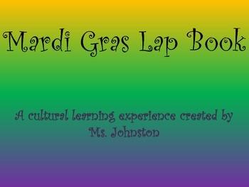 Mardi Gras Lap Book