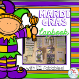Mardi Gras Lapbook { with 12 foldables } Research Lapbook