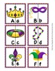 Mardi Gras Letter Match Puzzles