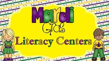 Mardi Gras Literacy Center Pack