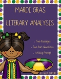 Mardi Gras Literary Analysis Task