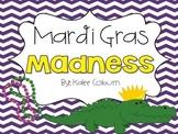 "Kindergarten Mardi Gras Activities : ""Mardi Gras Madness"""