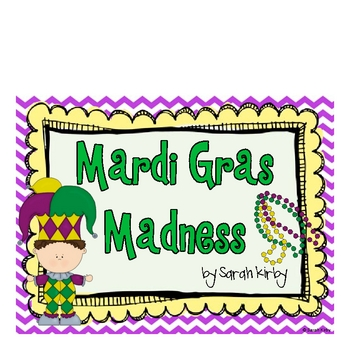 Mardi Gras Madness: Writing and Holiday Activities