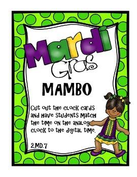 Mardi Gras Mambo Learning Centers