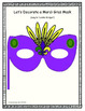 Interactive Mardi Gras Mask Building Song and Activities