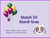 Mardi Gras: Match It!