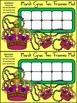Mardi Gras Math Activities: Mardi Gras Crown Ten Frames Math Center Activity