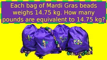 Mardi Gras Math