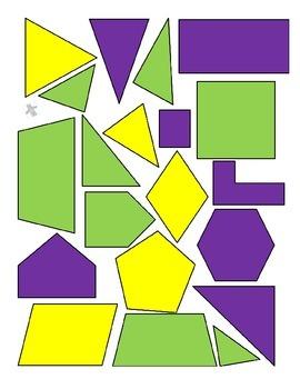 Mardi Gras Math Activities for 3 Days