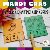 Mardi Gras Math: Counting to 10 Clip Cards Printable {TeKa Kinderland}