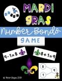 Mardi Gras Math Game! Number Bonds