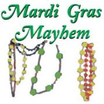 """Mardi Gras Mayhem"" School play version for 10 to 30 guests"
