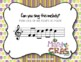 Mardi Gras Melodies! Interactive Melodic Game - Practice Do (So-Mi-La-Do)
