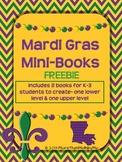 Mardi Gras Mini-Books FREEBIE