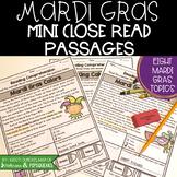 Mardi Gras Close Reading Passages